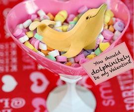You should dolphinitely be my Valentine