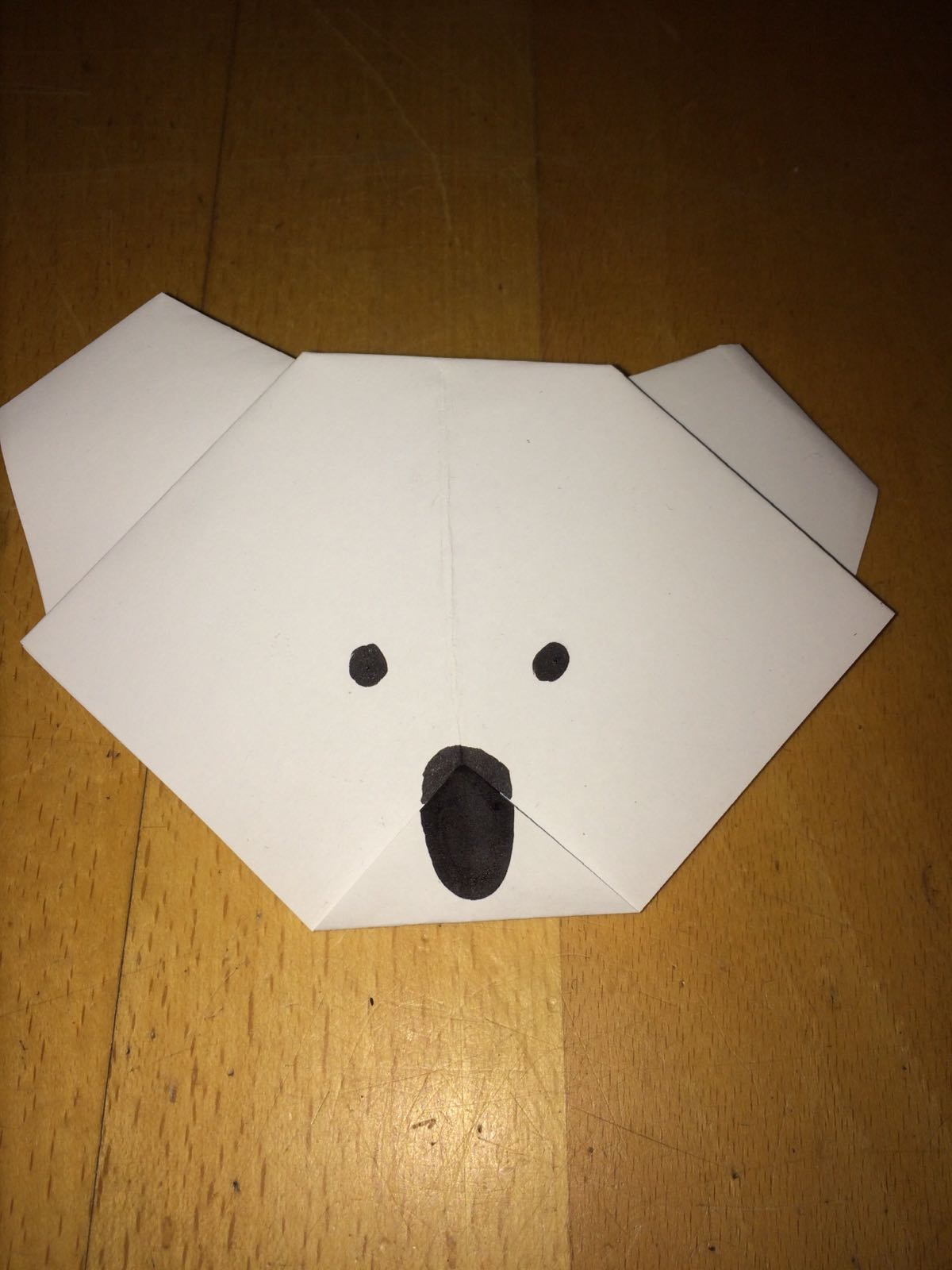 Picture of How to Fold a Koala Head!