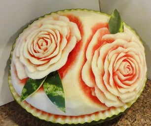 Watermelon Carving Basics: Roses!