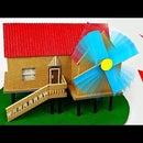 How to Make WINDMILL Generator From Cardboard for Science Project at Home