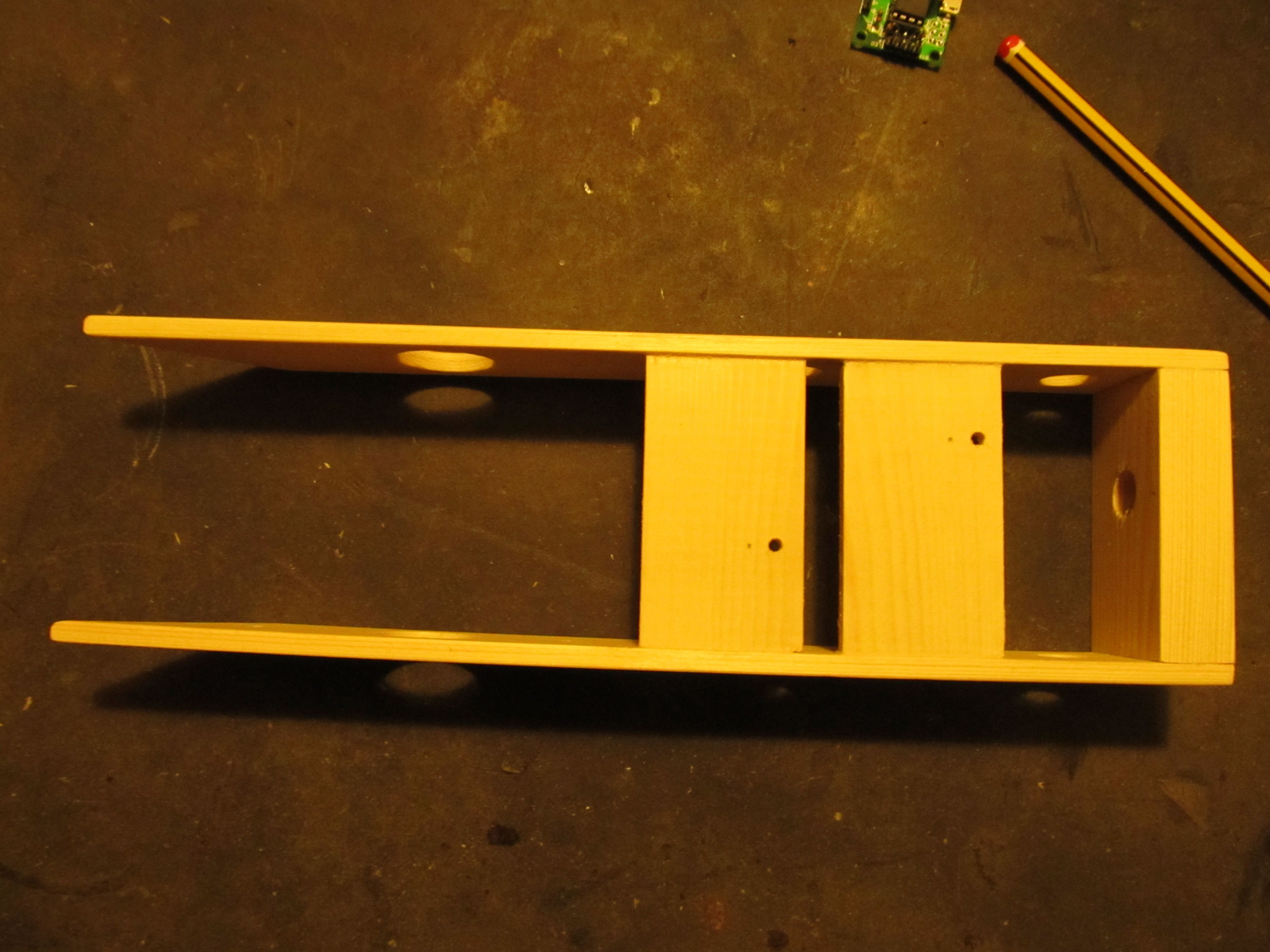 Picture of Building the Frame and Mounting the Parts