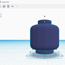 Custom 3D Printed Lego Head