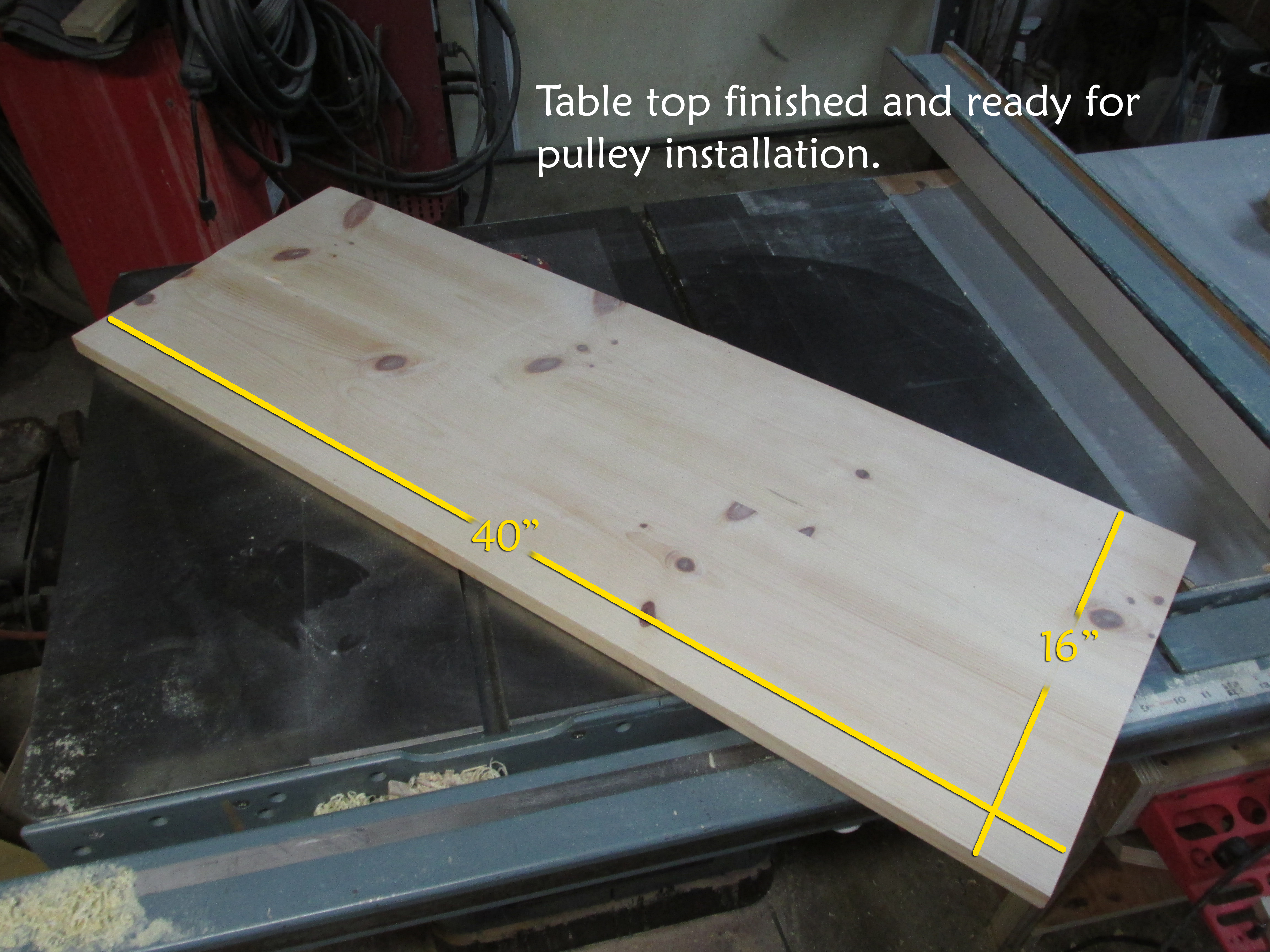 Picture of Making the Table