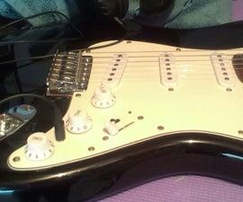 Built in Guitar Headphone Amp