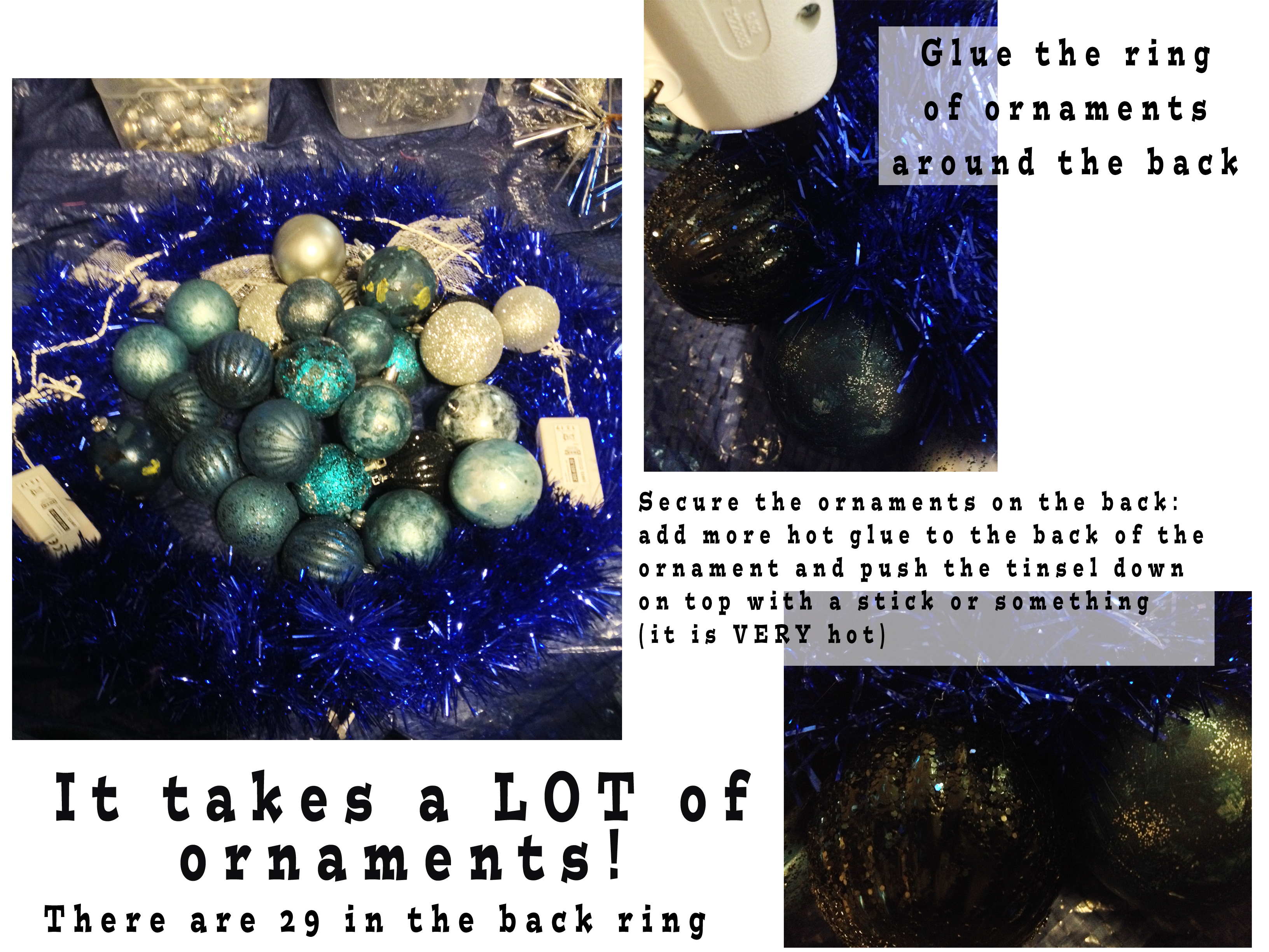 Picture of Layout: Add Ornaments Around Wreath