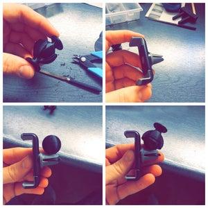 Step 8: Ball Joint Swivel Mechanism (3D Printing)