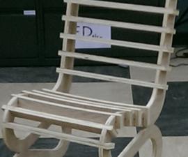 CNC Interlocking Chair Design
