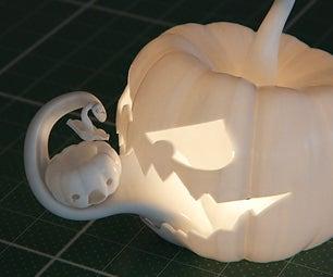 3D Printed Jack O'Lantern