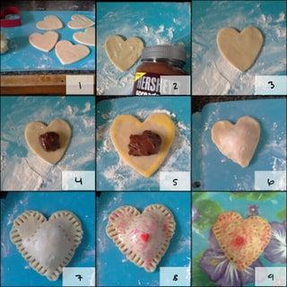 Mini Heart Pocket Pies