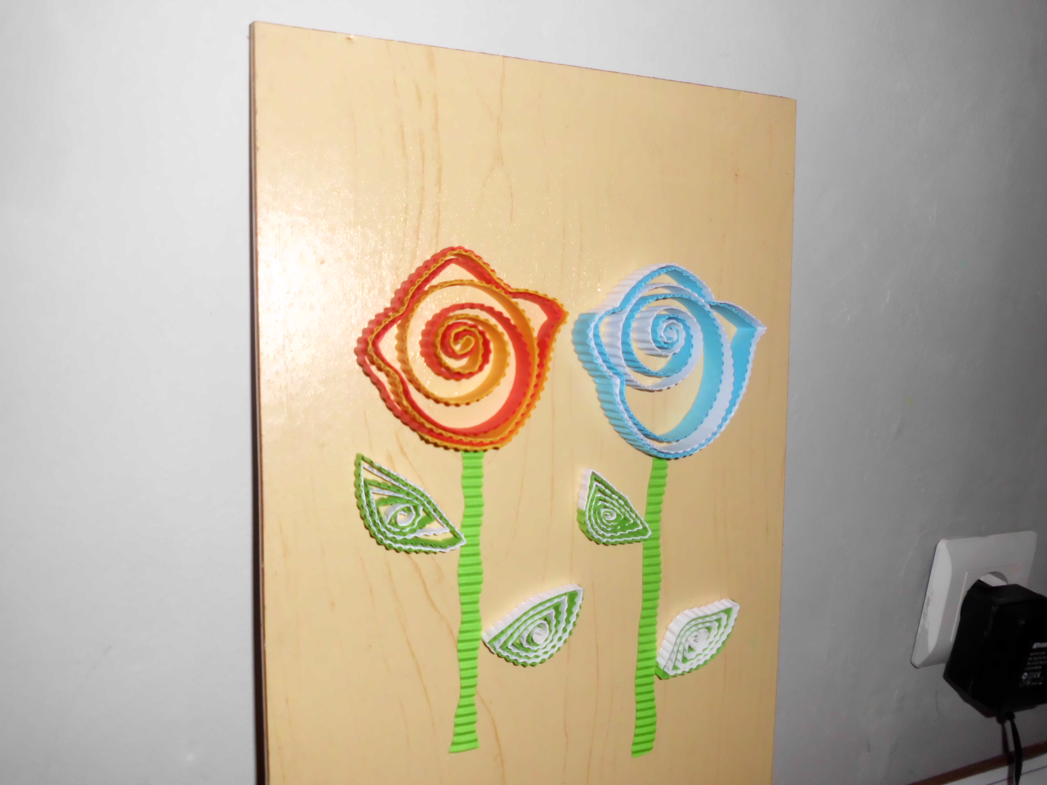 Picture of Easy Rose Paper Quilling