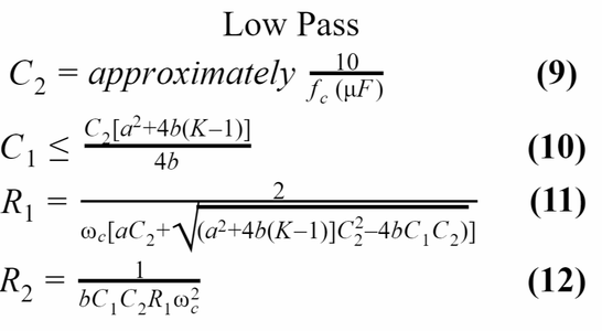 Design and Construct the 2nd Order Butterworth Low-Pass Filter