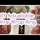 DIY Adjustable Wire Wrapped Spiral Ring