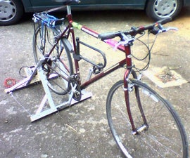 'No-welding' pedal generator stand