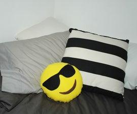 Make your own emoji pillow