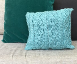Scarf Cushion Cover