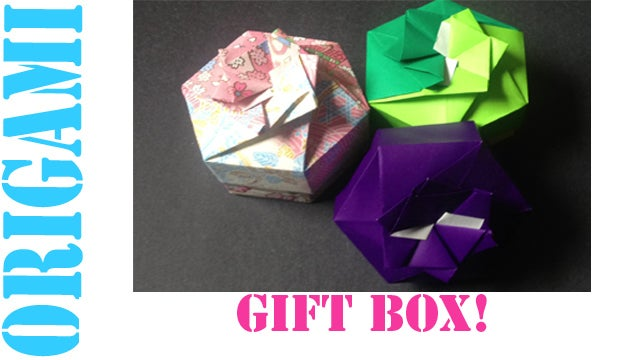 Origami Tutorial: Box with Lid from a single sheet (Anna ... | 360x640