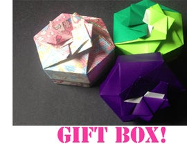 How to make an Origami Hexagon Box Lid (Modular 2 unit)!