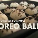 Cream Cheese Oreo Ball O.O