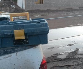 Updated: DIY toolbox solar: radio+ charger+ light for emergency!