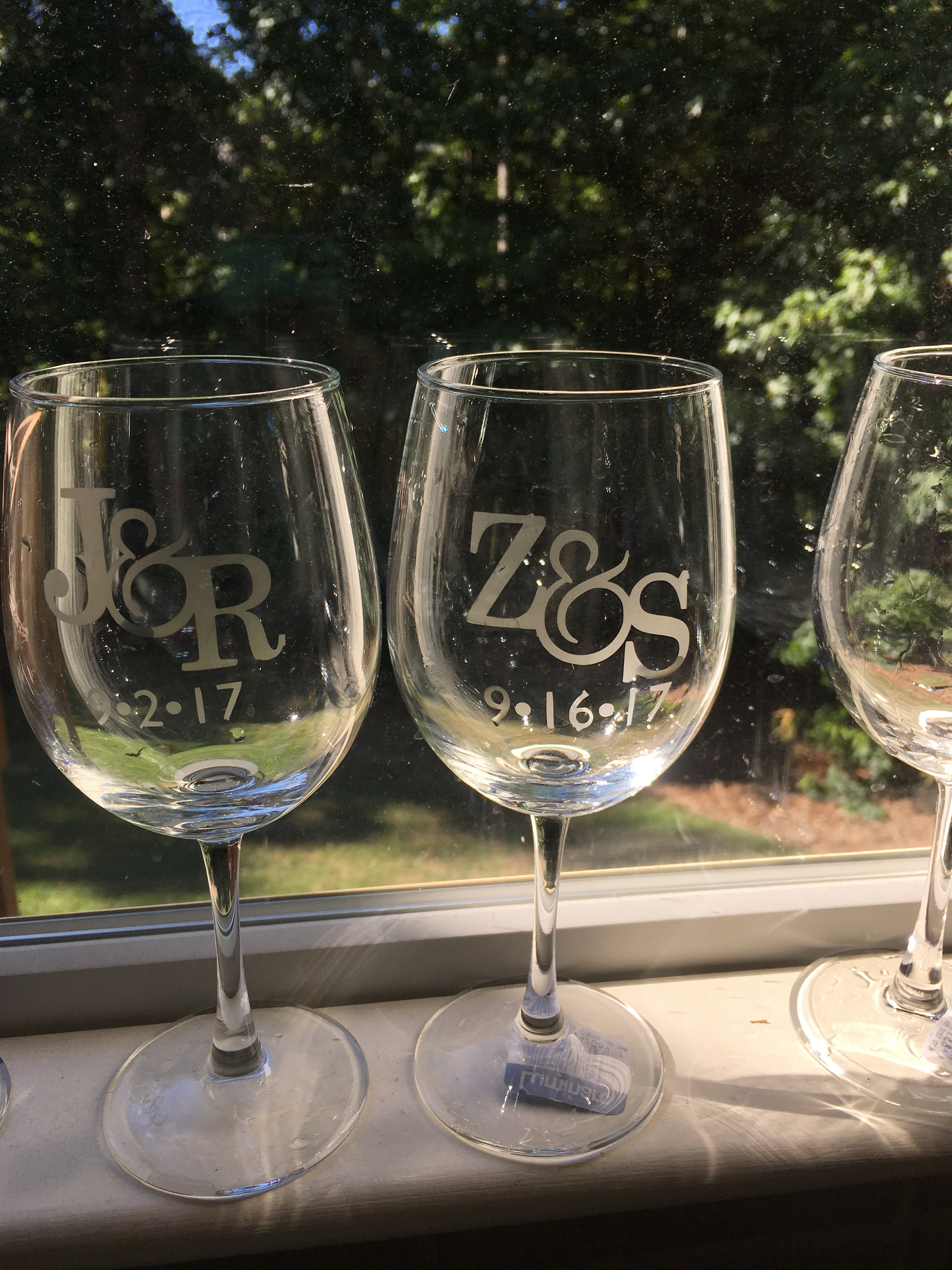 Picture of Acid-Etched Glass