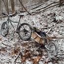 Bike trailer modification for Fat Bike