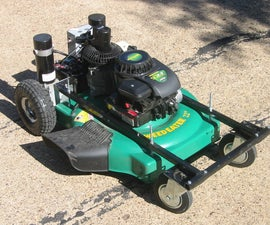Remote Controlled Lawnmower