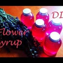 DIY: How to make SAGE flower organic syrup