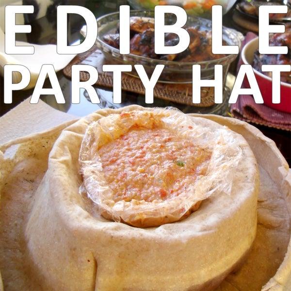 Edible Party Hat