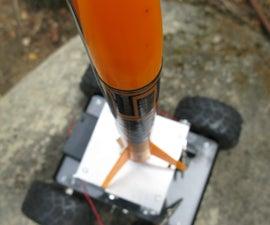 R/C Mobile (Model) Rocket Launcher