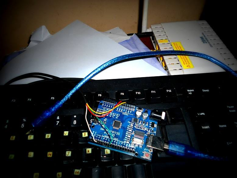 Picture of Connect PS/2 Keyboard to Arduino