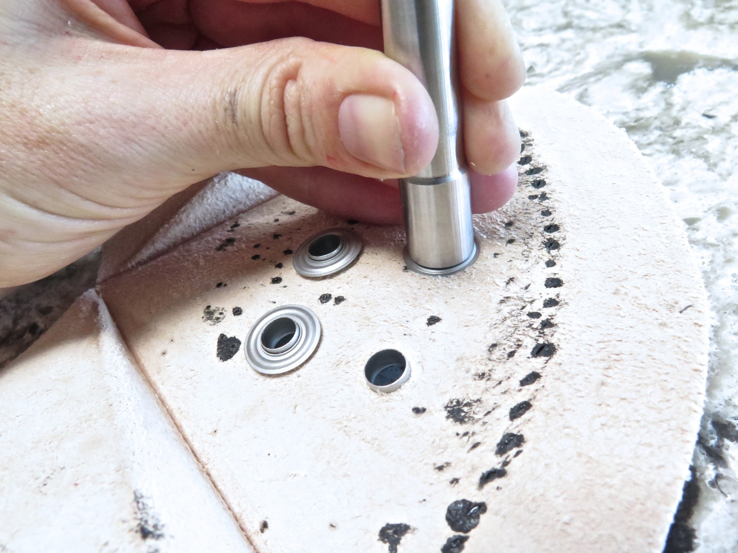 Picture of Adding Grommet Details