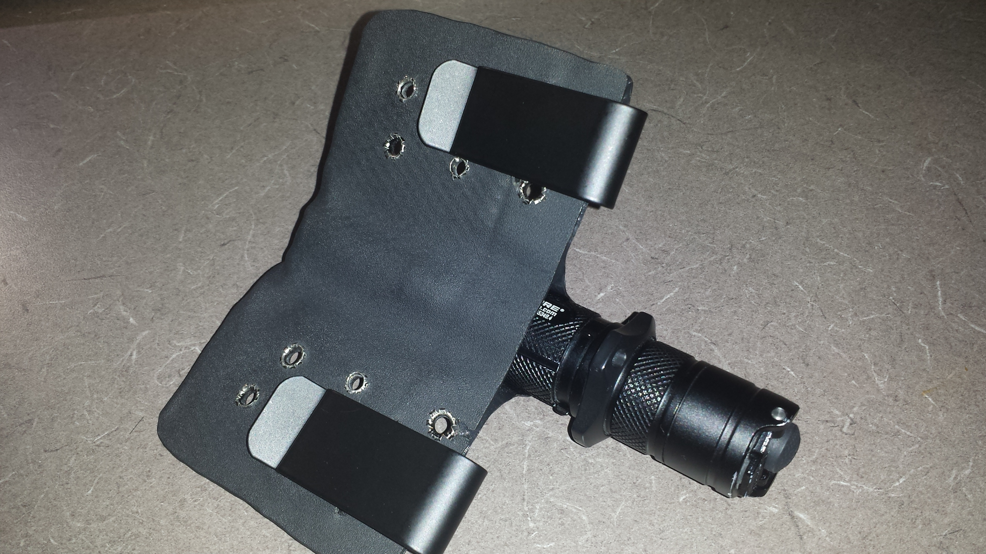 Picture of Kydex Flashlight Holster