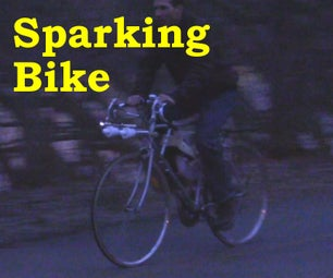 Sparking Bike Light/Bug Zapper