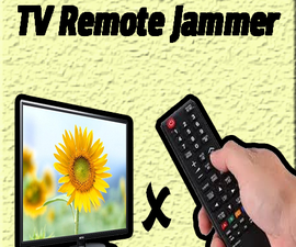 TV Remote Jammer Circuit | 555 Timer Projects | Simple Project | DIY Ideas