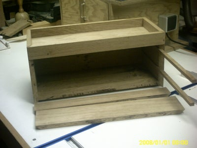 The Making Off a Toolbox and Adirondack Chair Out of Oak