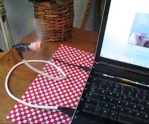 USB Cooling Fan (from a Broken Drive)