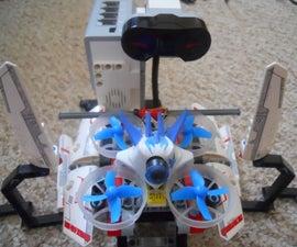 Lego Mindstorms EV3 Race Gate Timer for Micro Drones