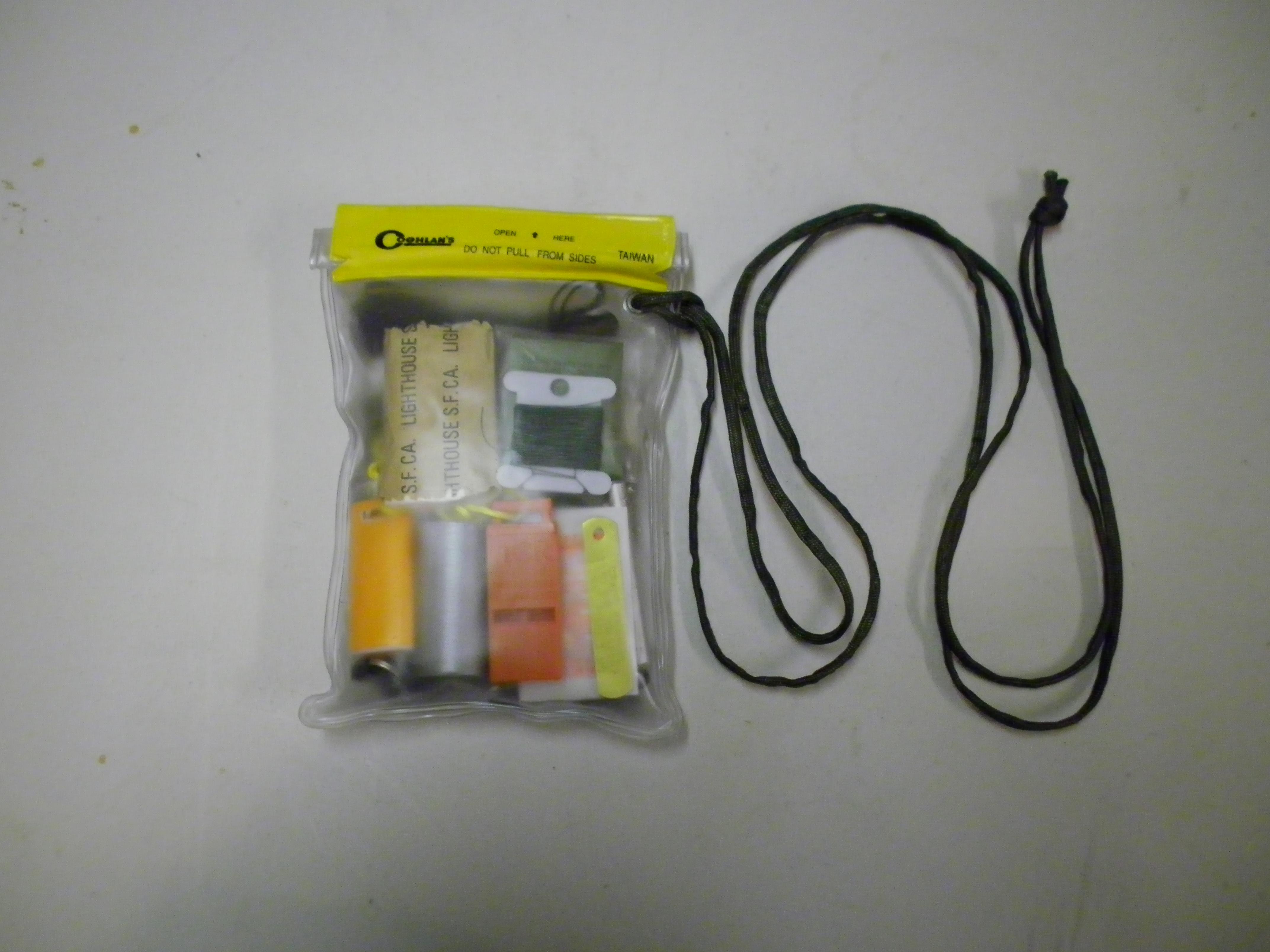 Minimalist Pocket Survival Kit