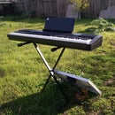 Solar-Powered Piano Keyboard