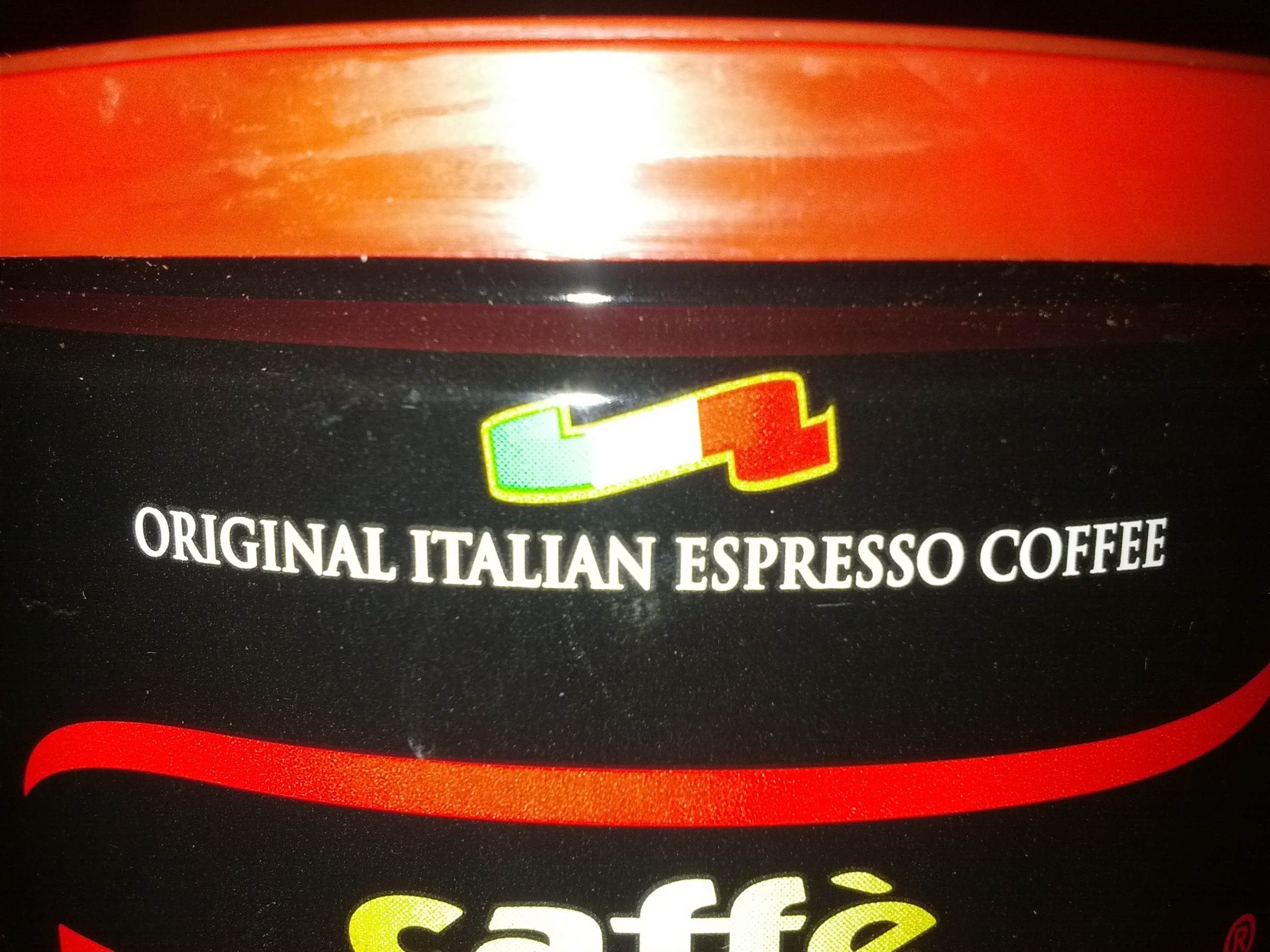 Picture of Fill With Espresso Ground Coffee