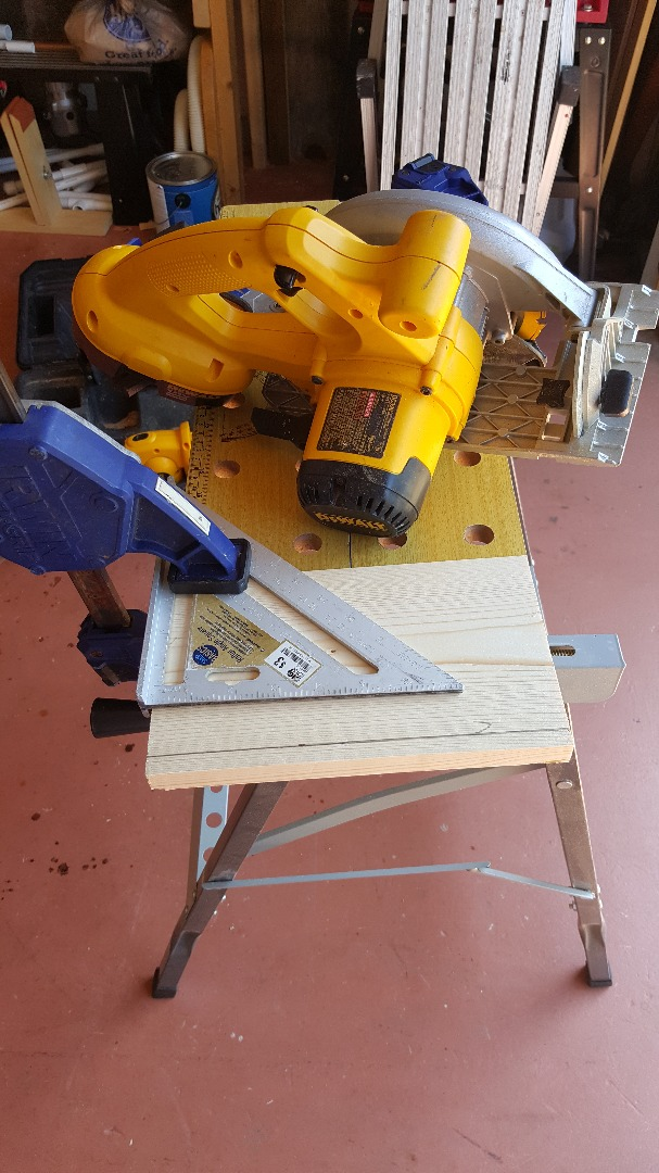 Picture of Preparing the Base Then Stain