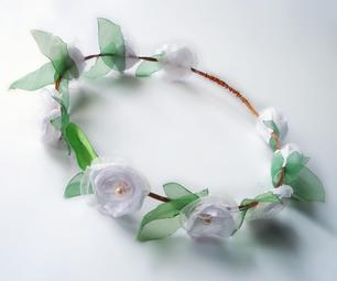 Dreamy Flowered Wire Tiara