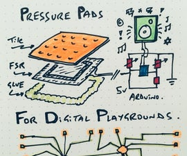 Playful Pressure Sensitive Pads (for Digital Playgrounds - and More)