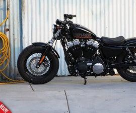 Change Oil Harley Davidson Sportster