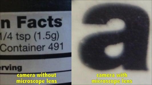 Turning Smartphone Into Microscope