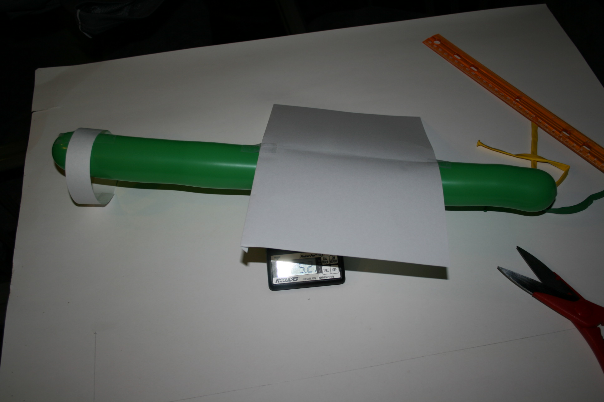 Picture of Low Mass Toy Airplane Fuselage