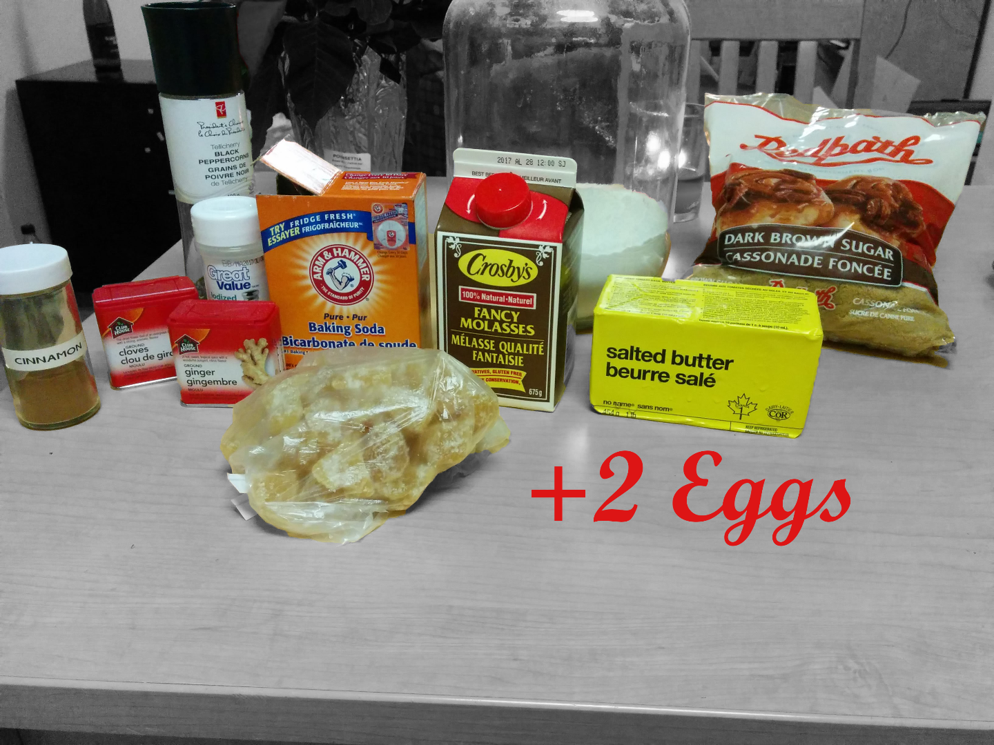 Picture of Ingredients & Equipment