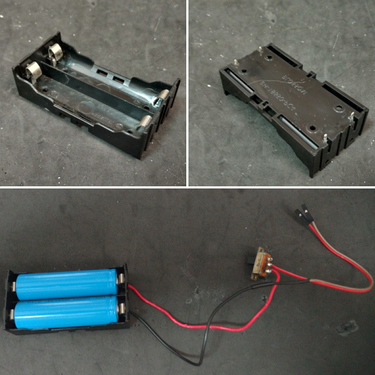 Picture of Back and Power Pack