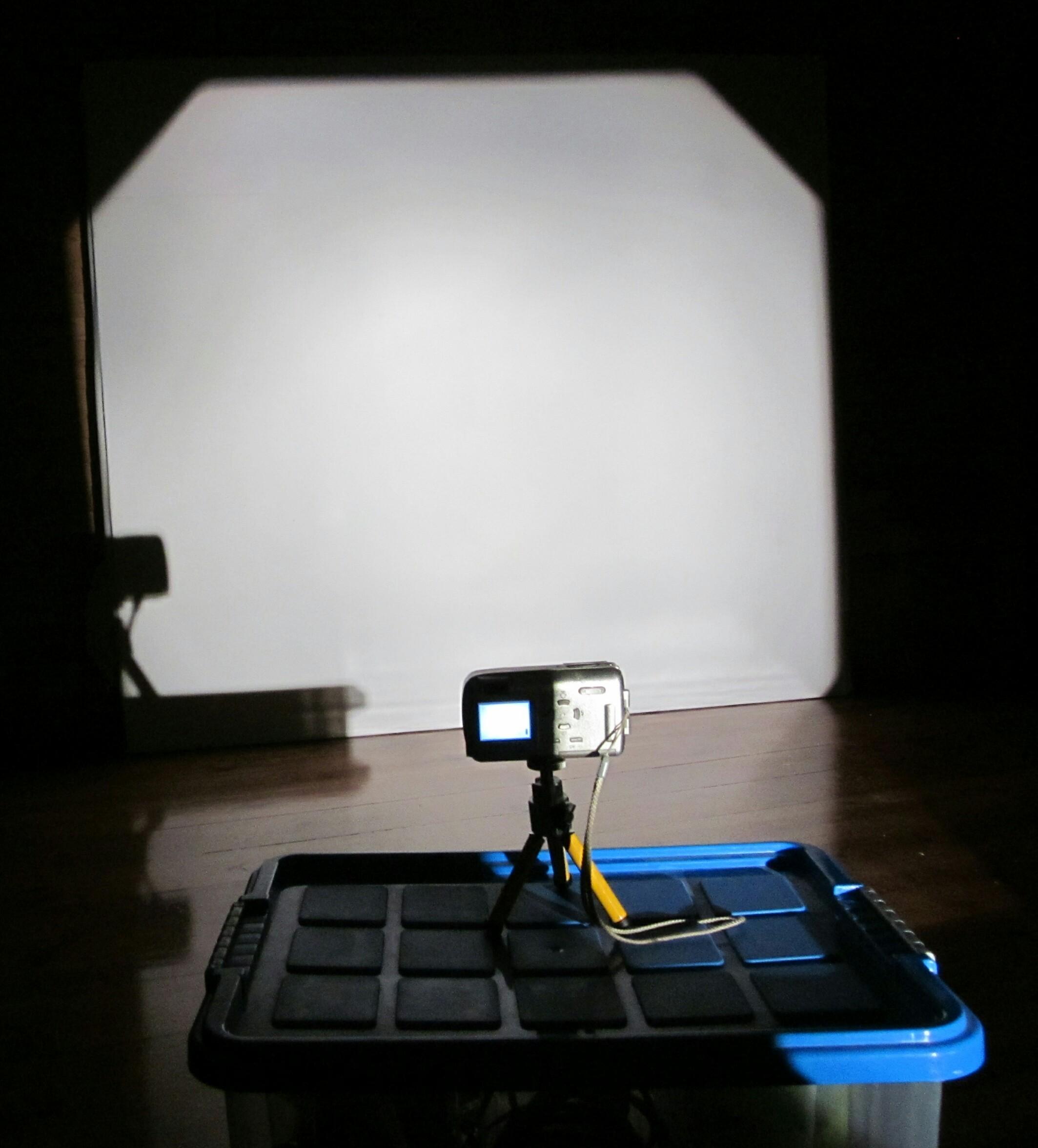 Picture of Prepare the Projector and Camera « Preparar El Proyector Y La Cámara »