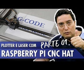 Plotter and Laser With Raspberry Pi CNC Hat